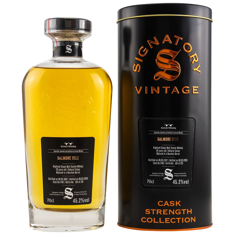 Signatory Vintage Whisky Cask Strength Edition Dalmore